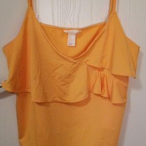 H&M Orange Tank Top